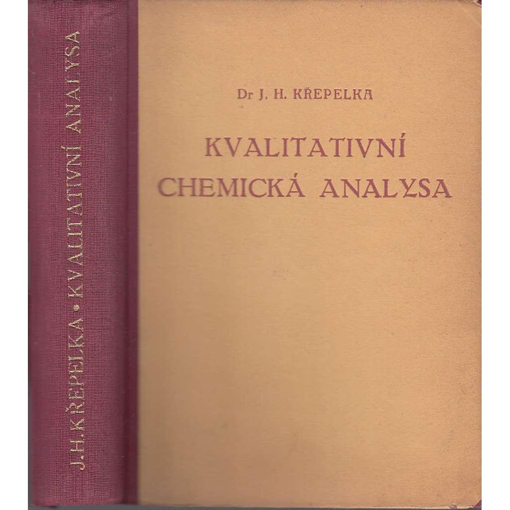 Kvalitativní chemická analysa