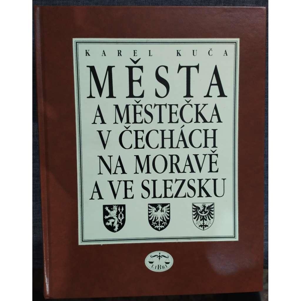 Města a městečka v Čechách, na Moravě a ve Slezsku A-G (I. díl)
