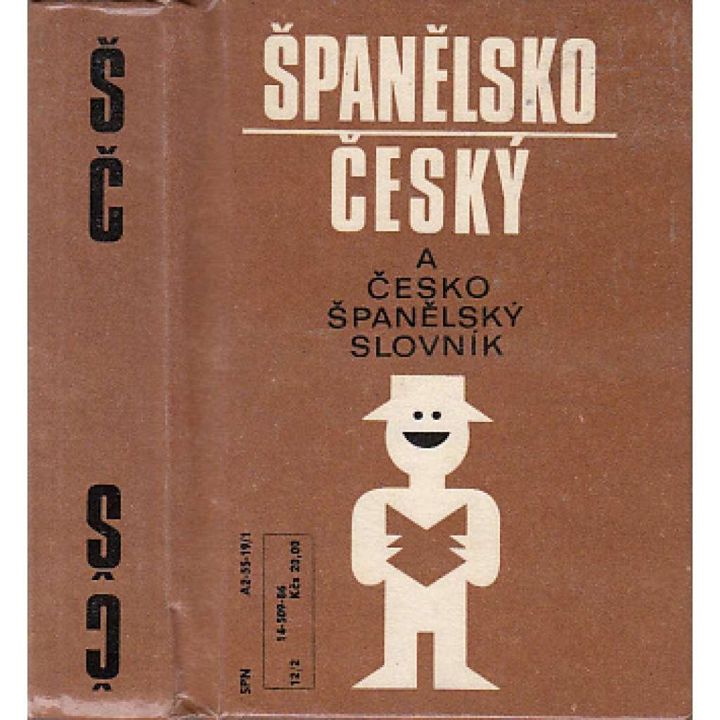 Česko-španělský a španělsko-český slovník
