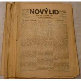 Nový lid. 1915. List pro vzdělání lidu