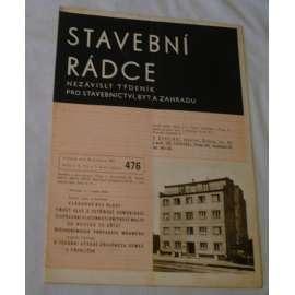 Stavební rádce 1937, roč.X., č.7., č.běžné 476