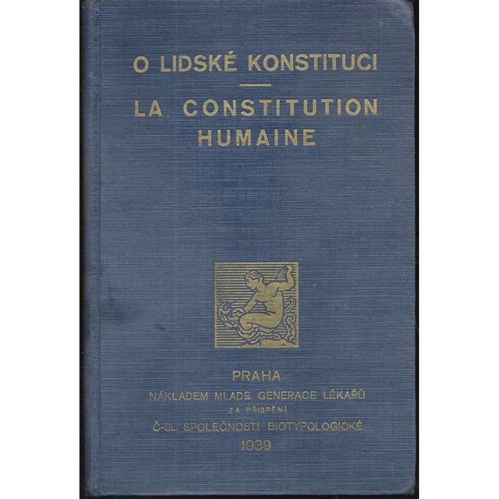 O lidské konstituci. La constitution humain