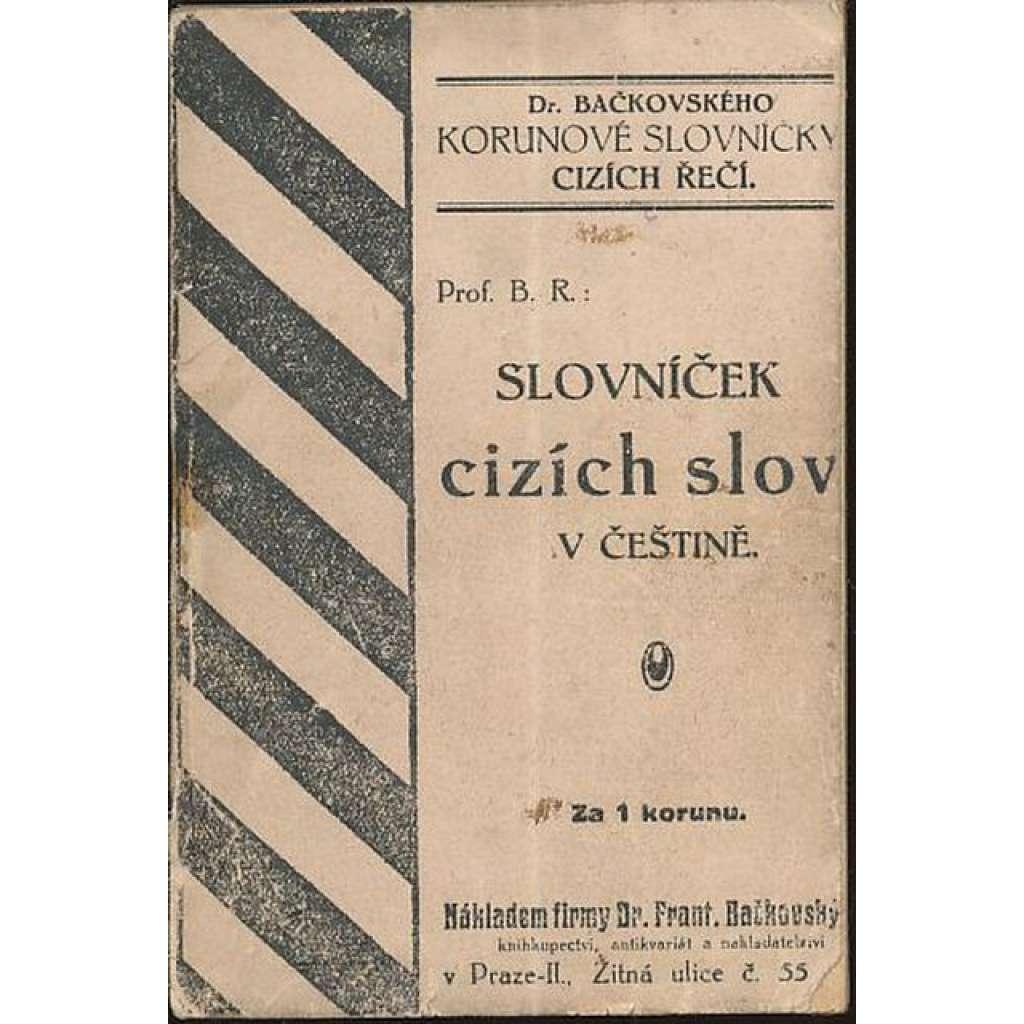 Slovníček cizích slov v češtině