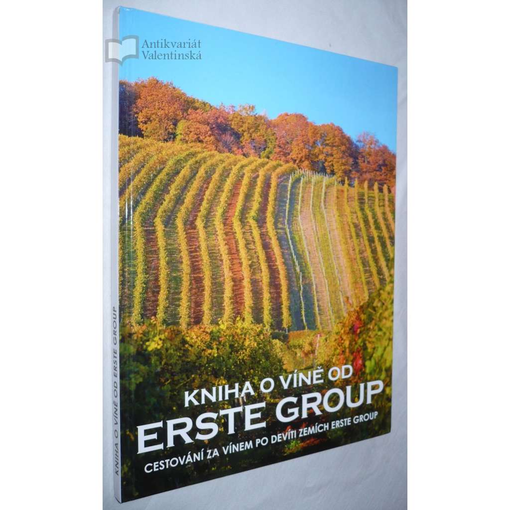 Kniha o víně Erste Group