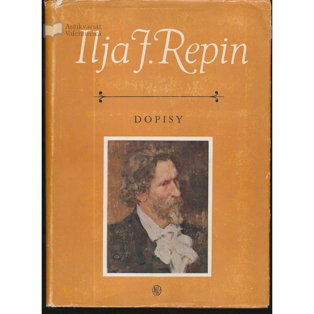 Dopisy. Ilja J.Repin
