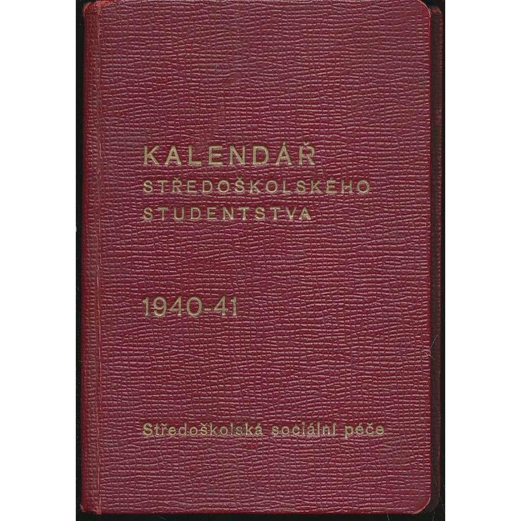Kalendář středoškolského studentstva, 1940-41