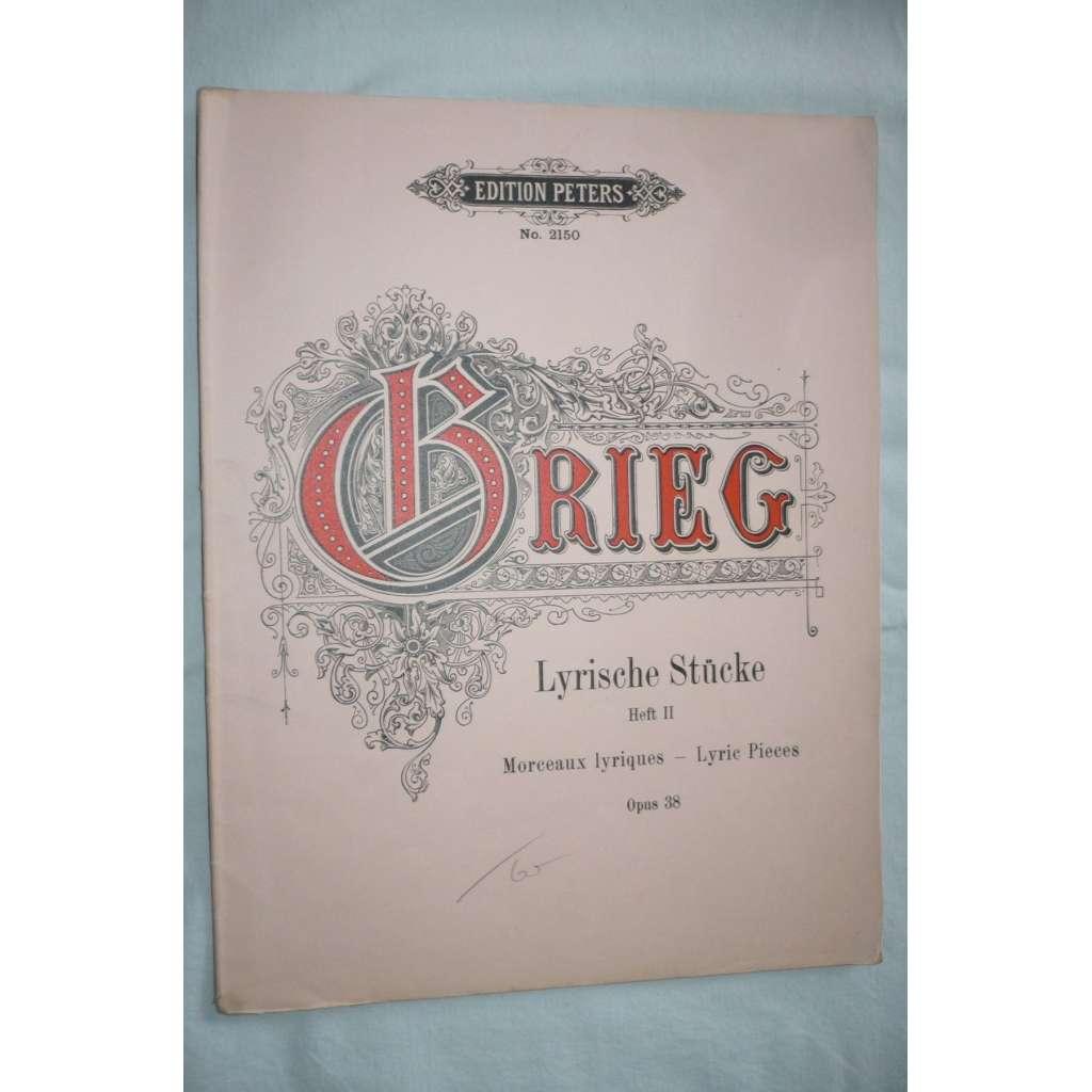 Lyrische Stücke, sešit II.