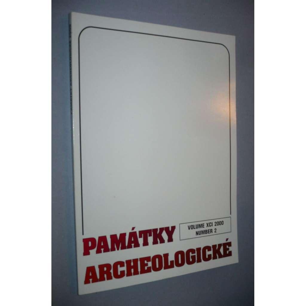 Památky archeologické 2000/2