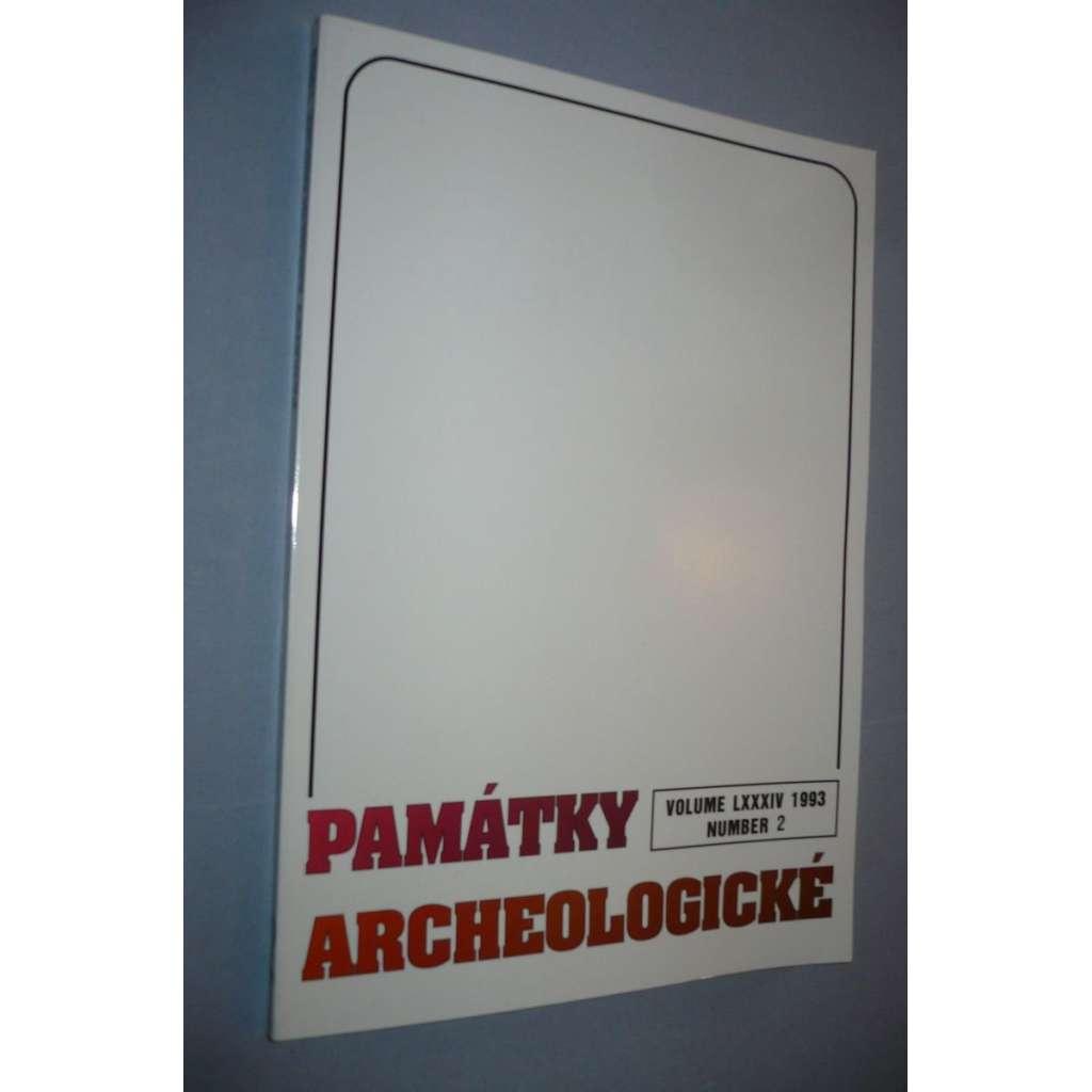 Památky archeologické 1993/2