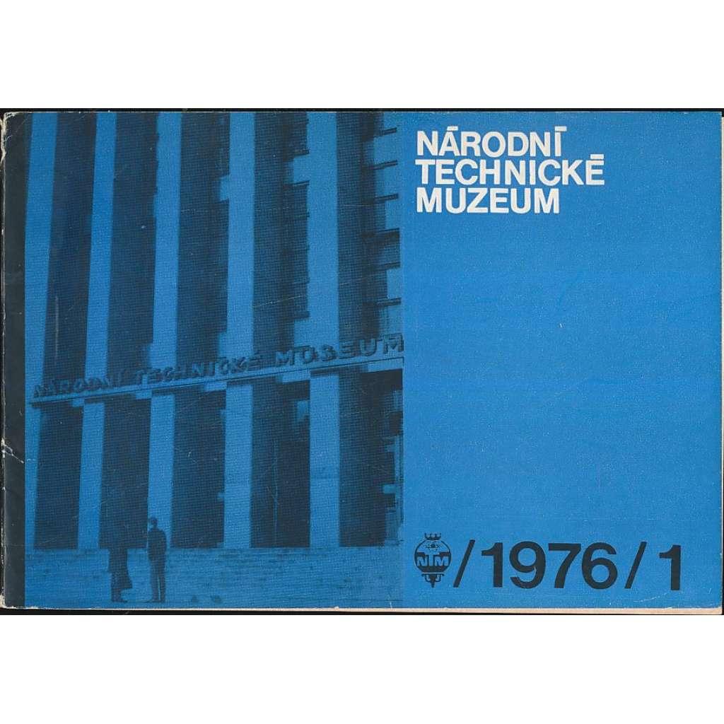 Národní technické muzeum - zpravodaj, 1976/1