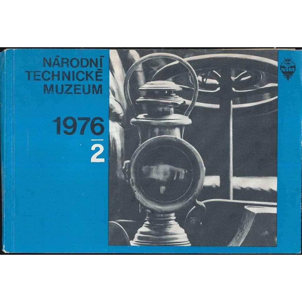 Národní technické muzeum - zpravodaj, 1976/2