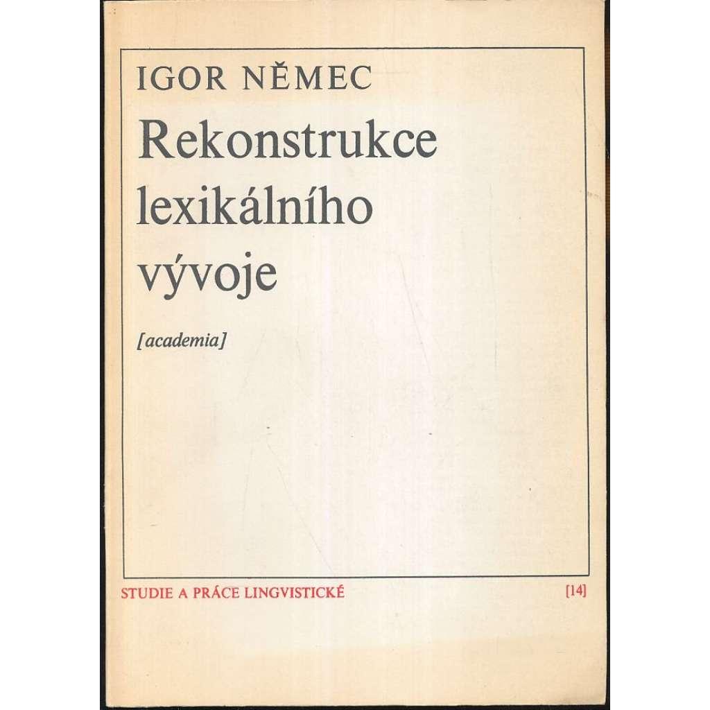Rekonstrukce lexikálního vývoje