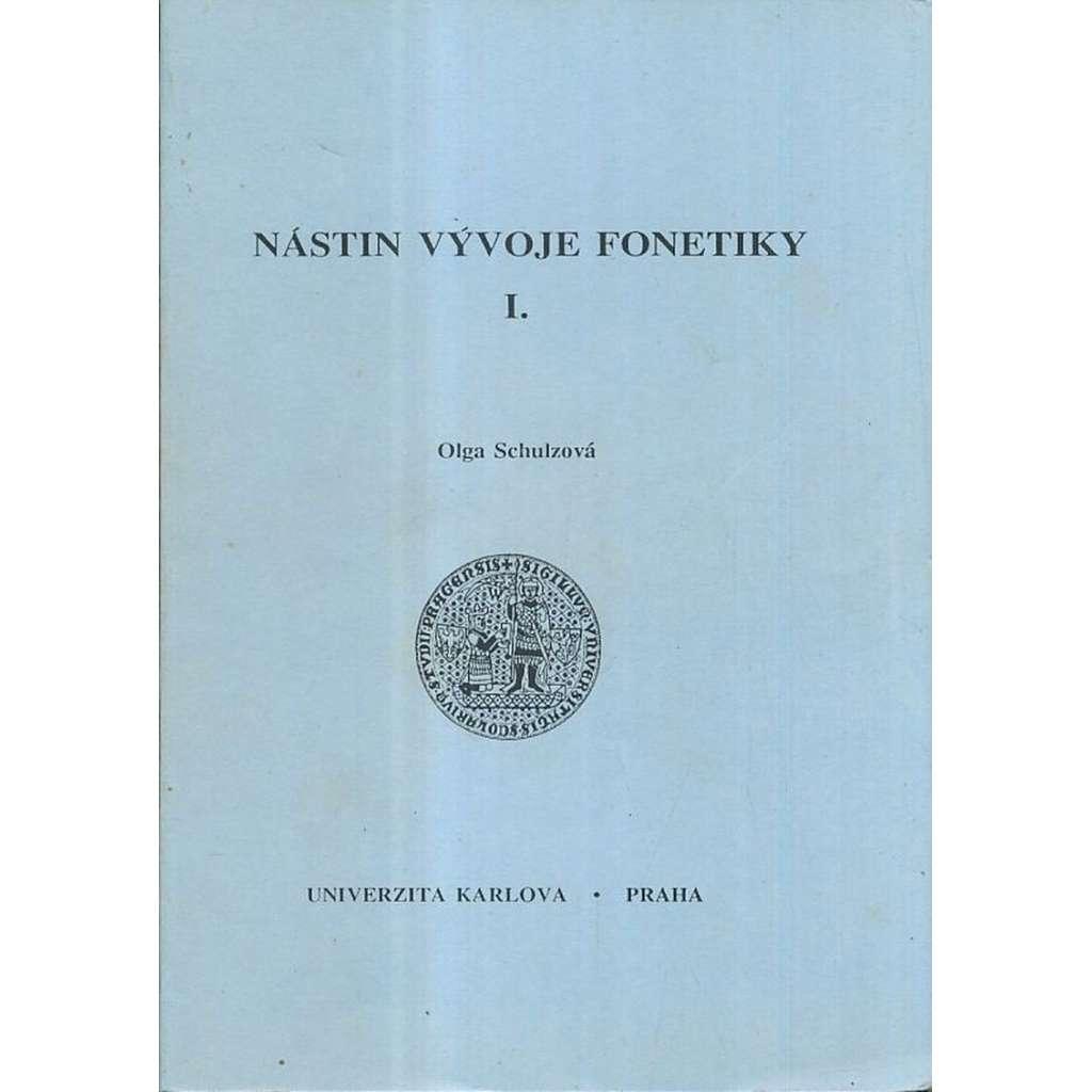 Nástin vývoje fonetiky I.
