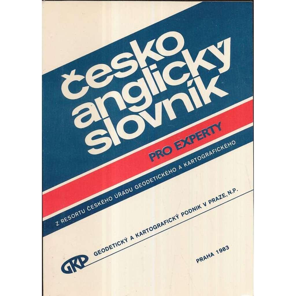 Česko-anglický slovník pro experty (1983)