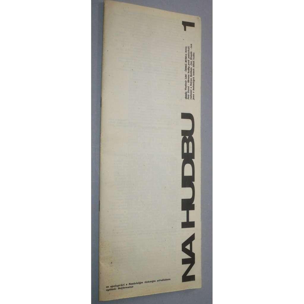 Konzerva / Na Hudbu, č. 1/1990