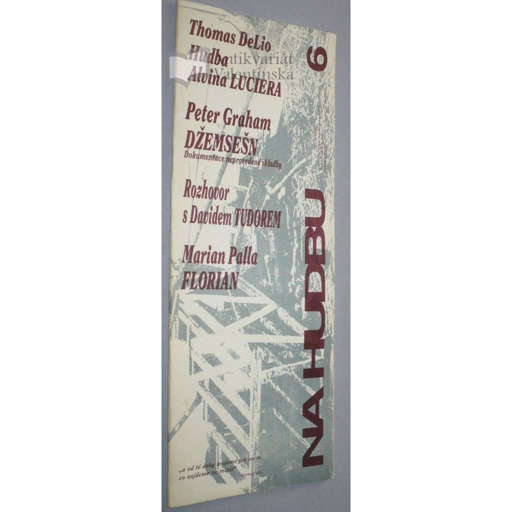 Konserva / Na Hudbu, č. 6/1991