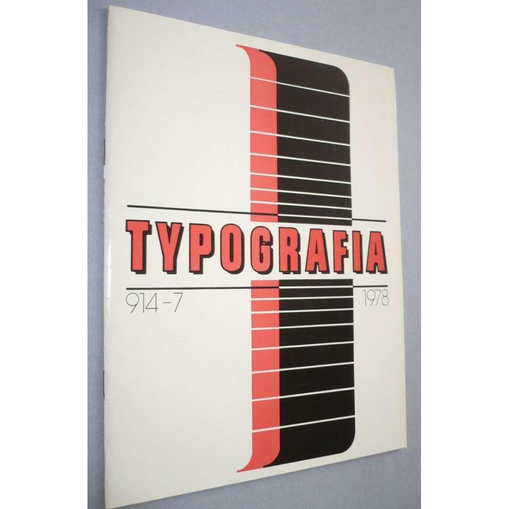 Typografia  7/1978
