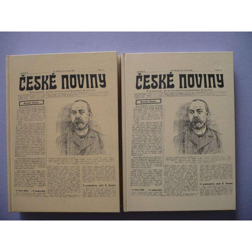 České noviny, 2 sv.