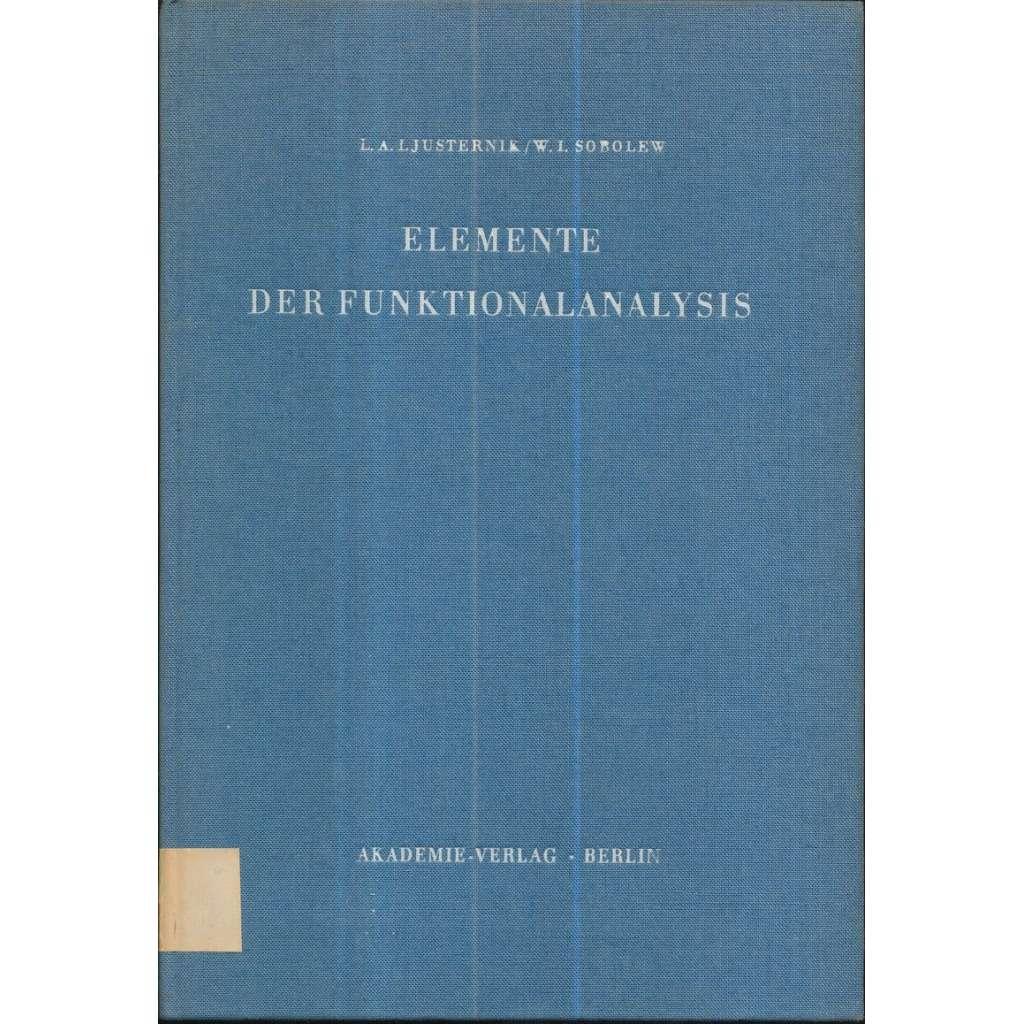 Elemente der Funktionalanalysis