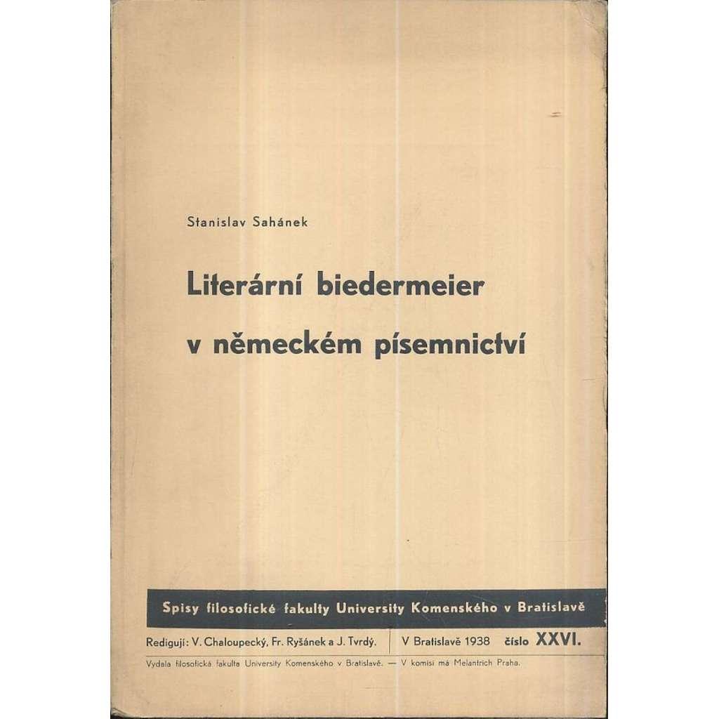Literární biedermeier v německém písemnictví