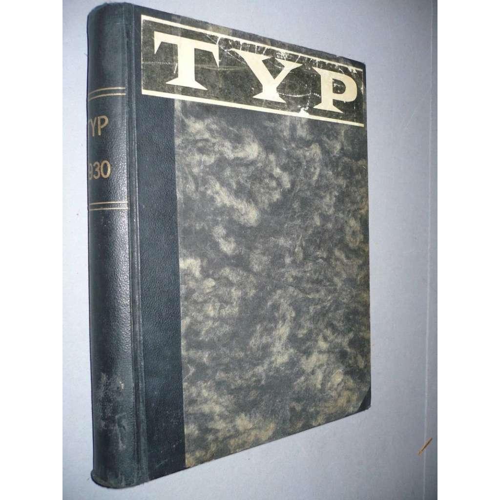 TYP, ilustrovaný magazin, r. IV/1930