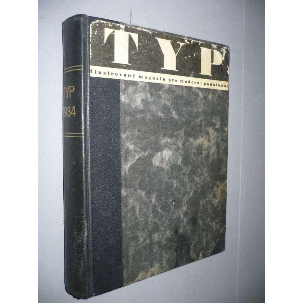 TYP, ilustrovaný magazin, r. VIII/1934