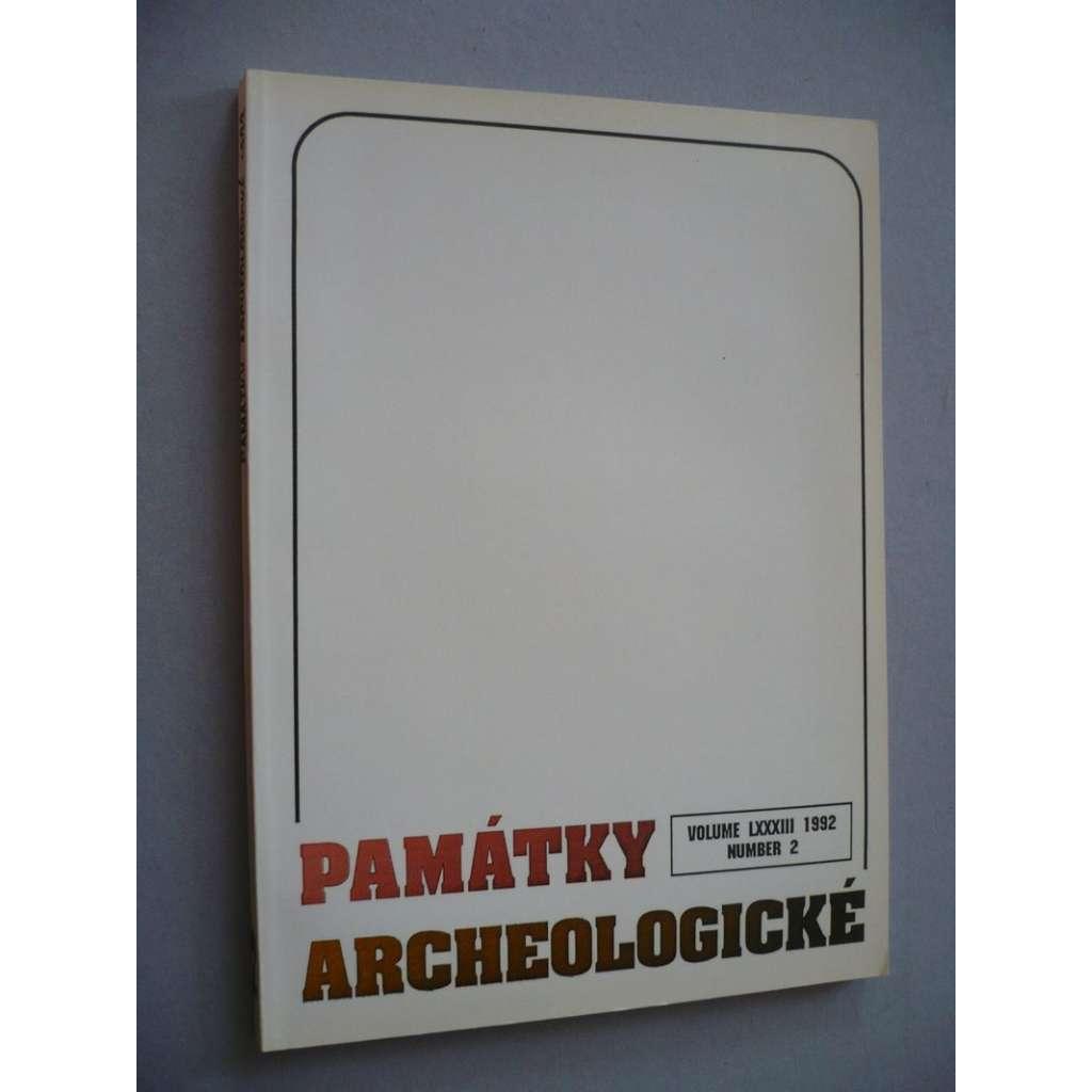 Památky archeologické 1992/2