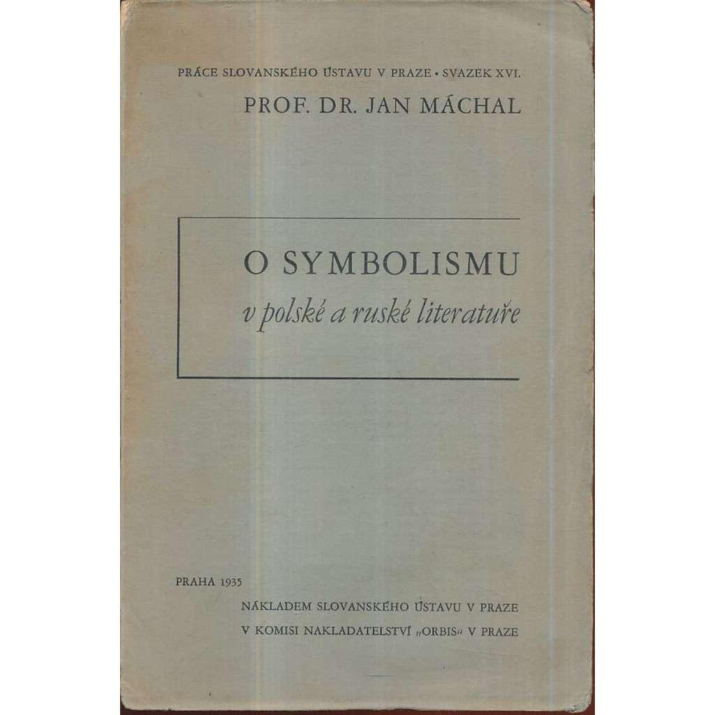 O symbolismu v polské a ruské literatuře