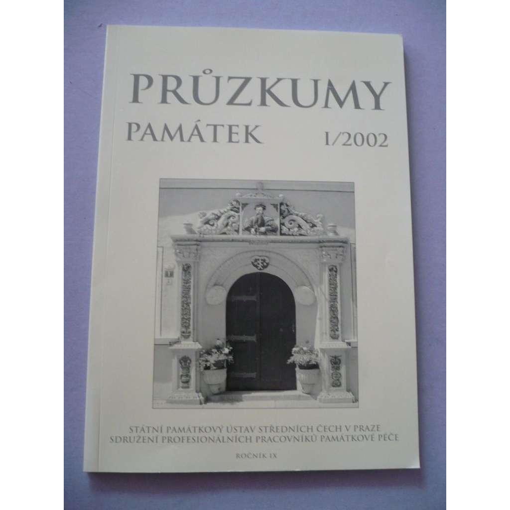 Průzkumy památek I/2002/IX