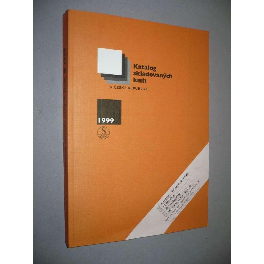 Katalog skladovaných knih v České republice, 1999