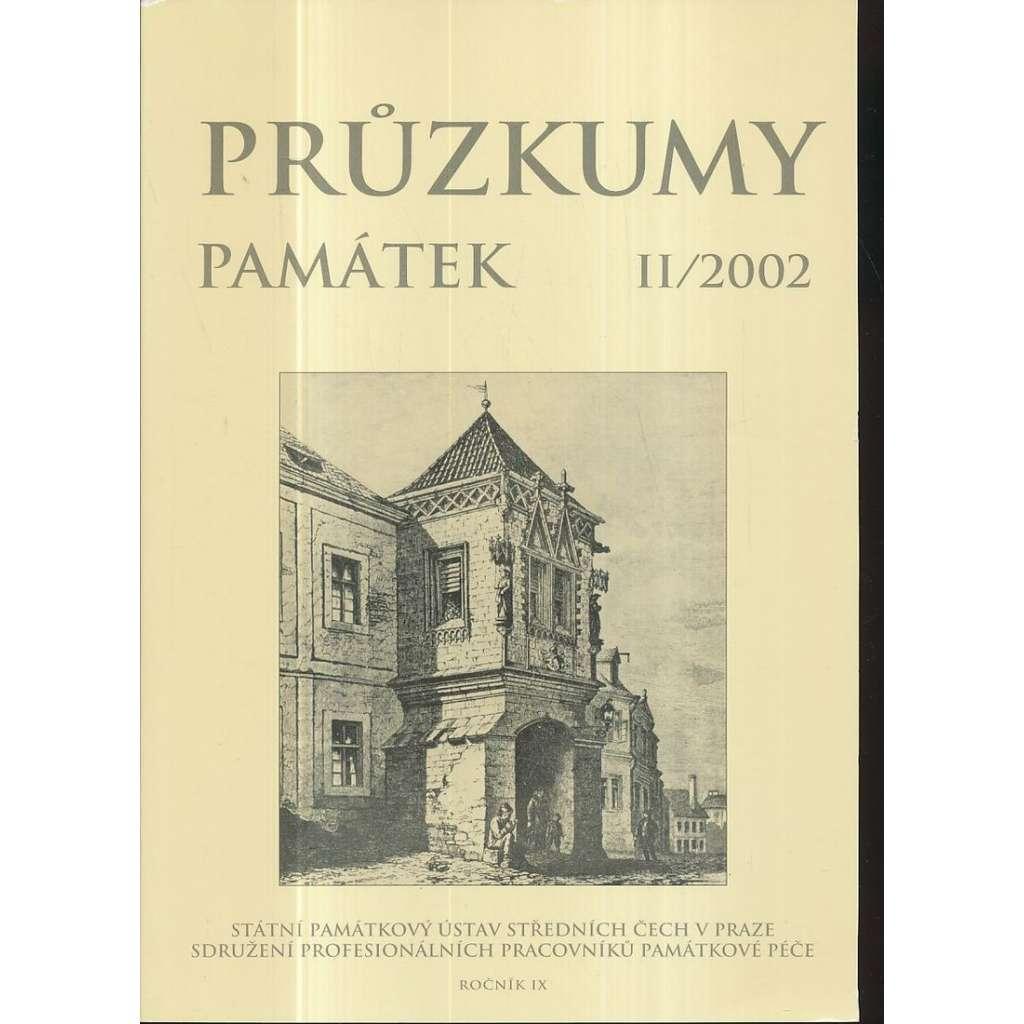 Průzkumy památek, roč. IX. II/2002