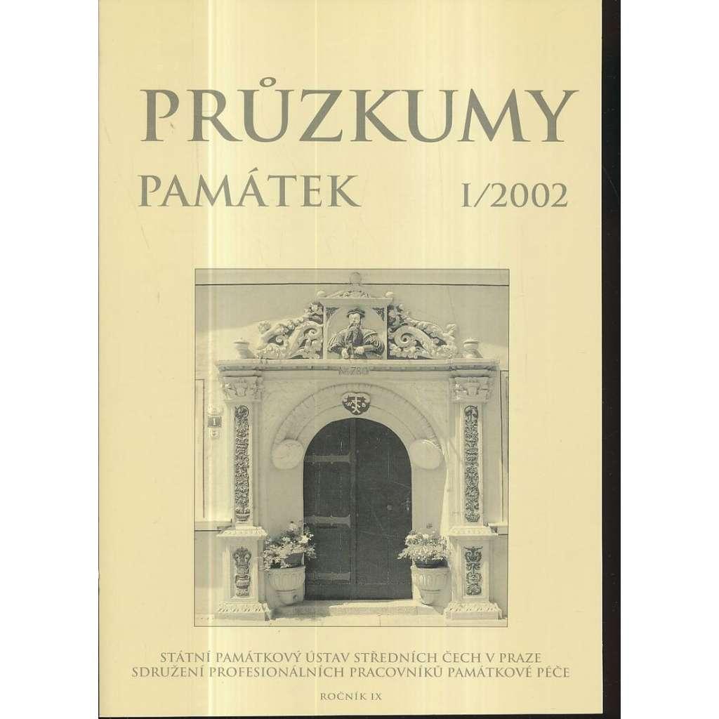 Průzkumy památek, roč. IX. I/2002
