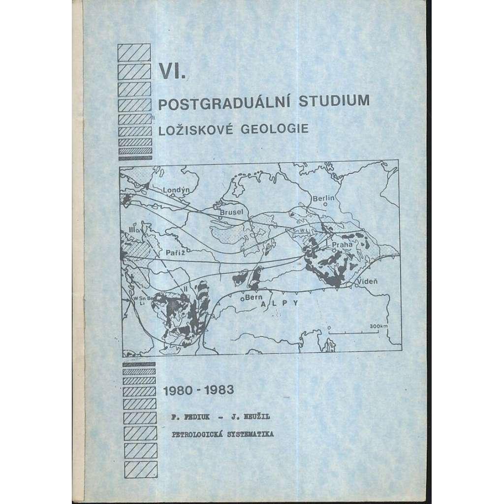 Petrologická systematika
