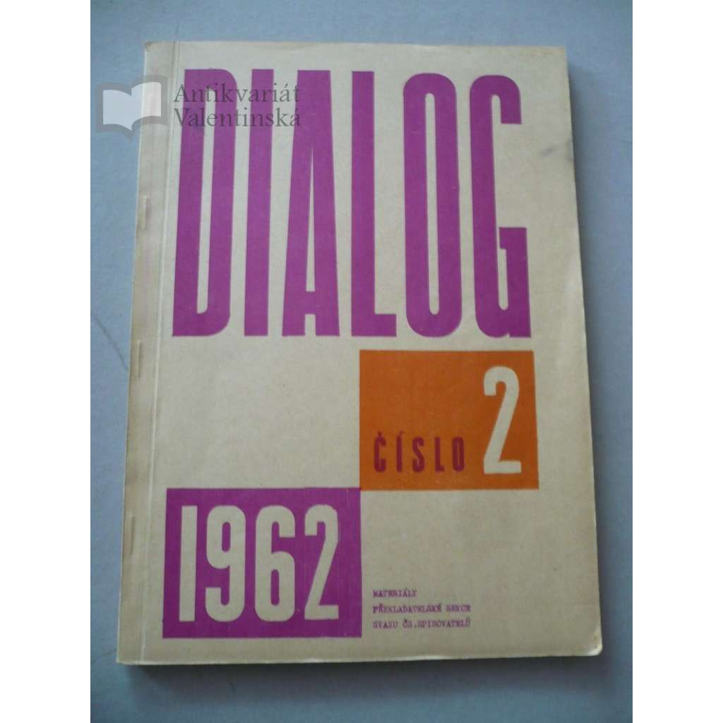 Dialog 2/1962