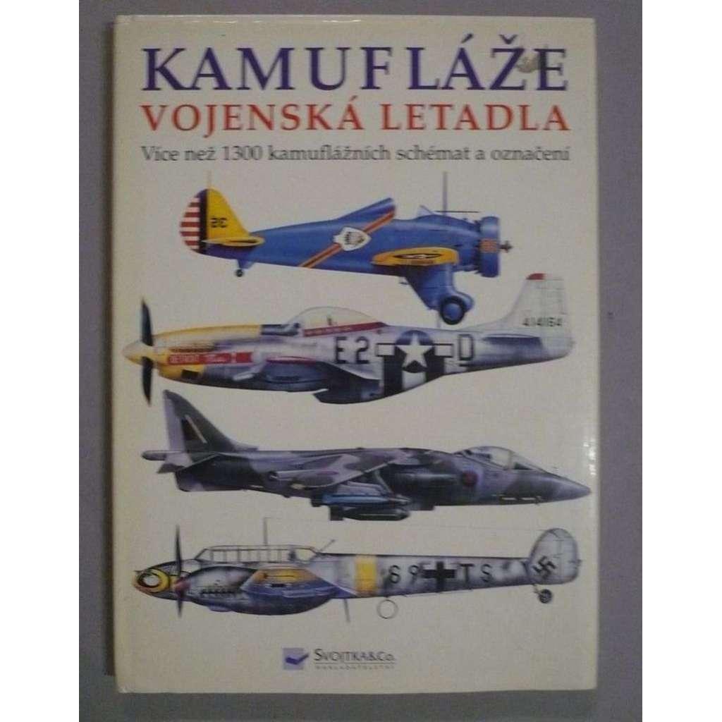 Kamufláže - vojenská letadla