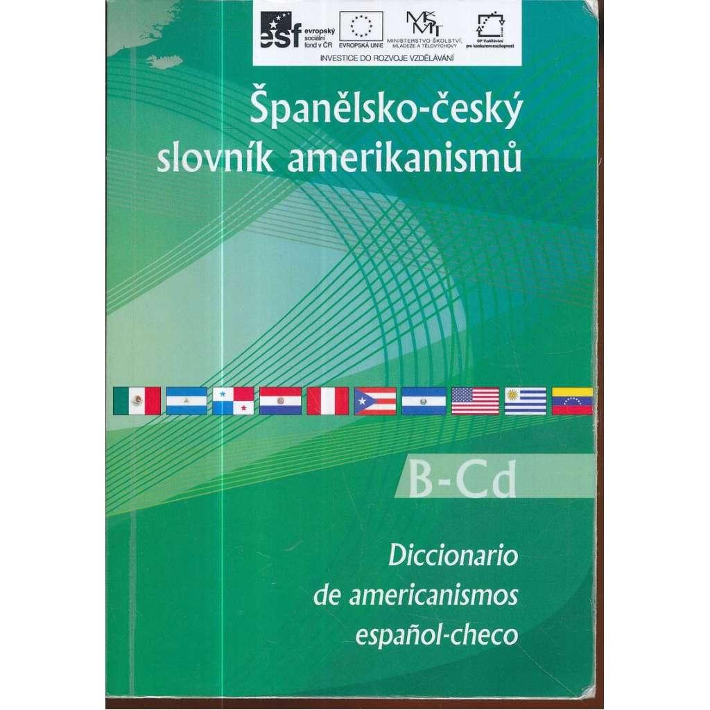 Španělsko-český slovník amerikanismů, pouze B-Cd