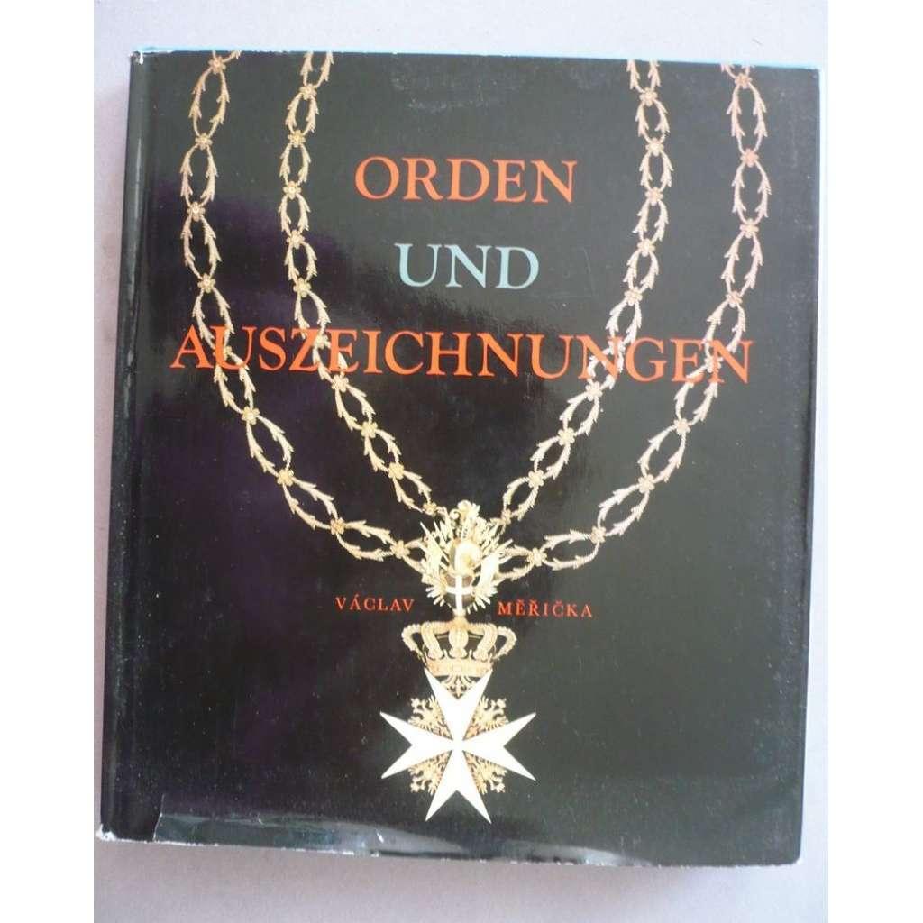 Orden und Auszeichnungen  (Řády a medaile)
