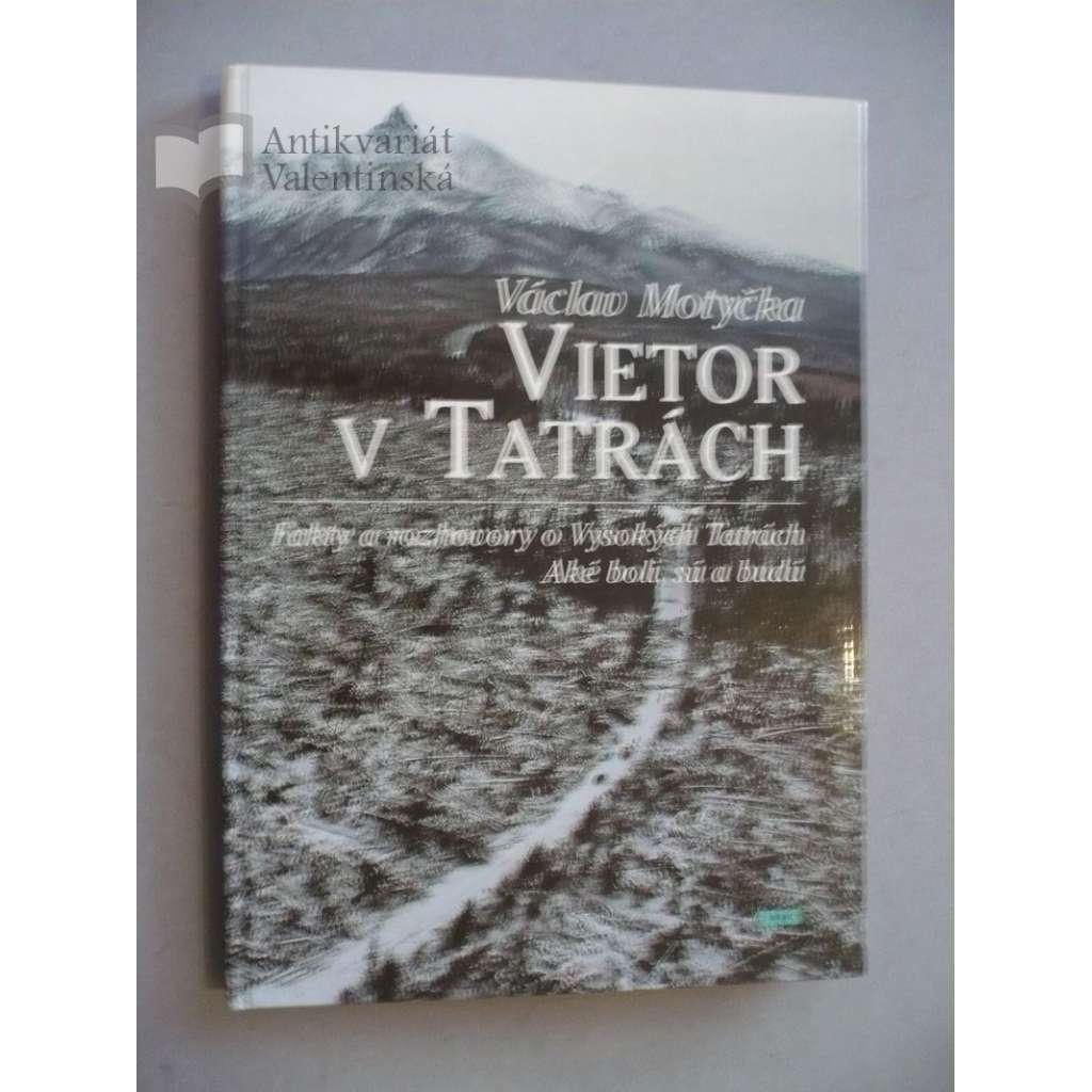 Vietor v Tatrách
