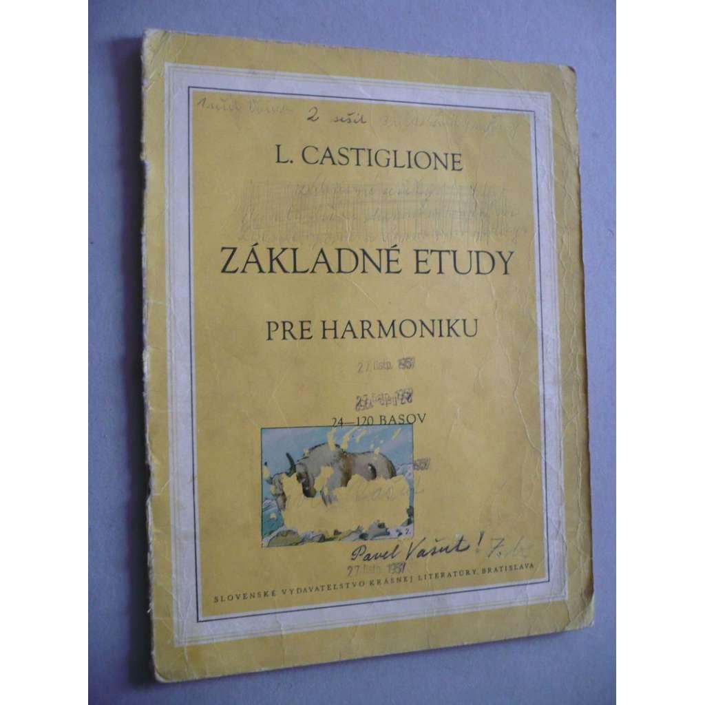 Základné etudy pre harmoniku