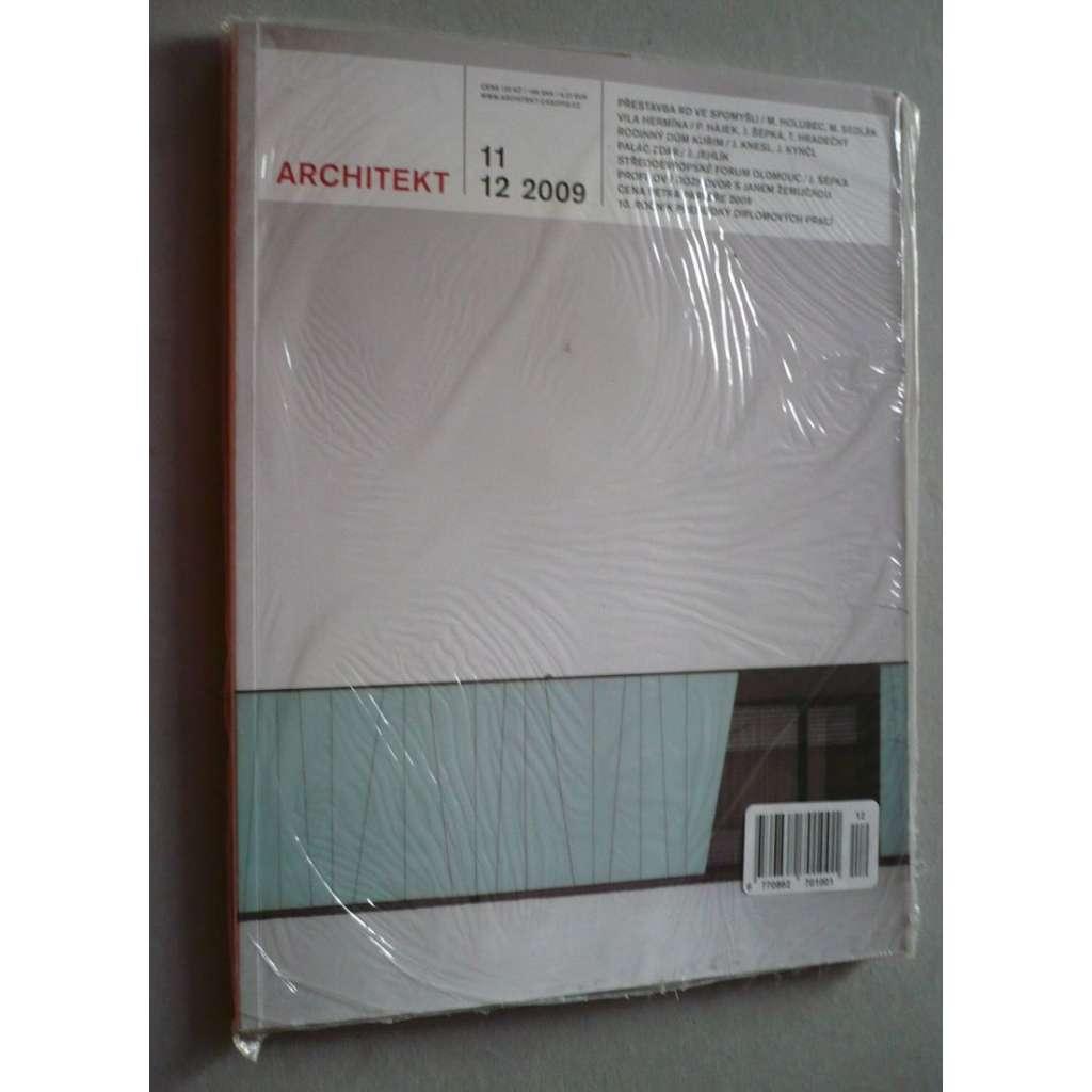 Architekt 11,12/2009, časopis