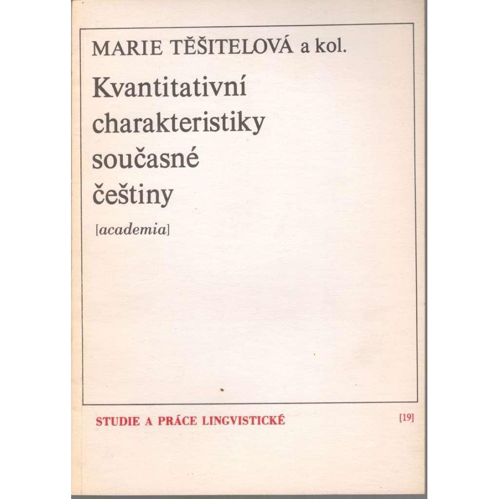 Kvantitativní charakteristiky současné češtiny