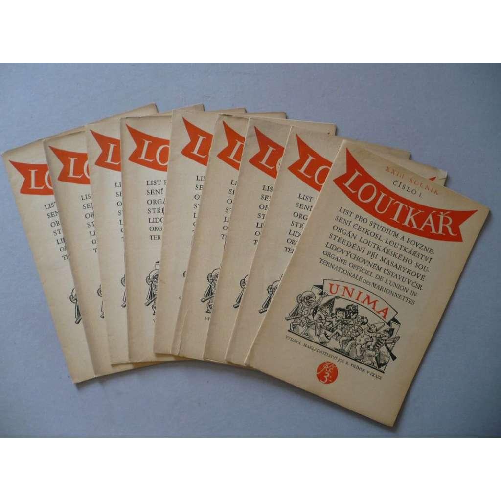 Loutkář, XXIII.ročník / 1936-37
