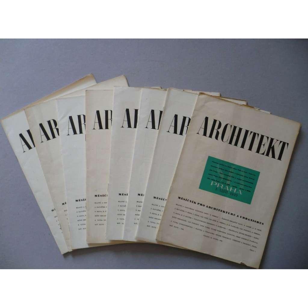 Architekt XLVII/1949, časopis