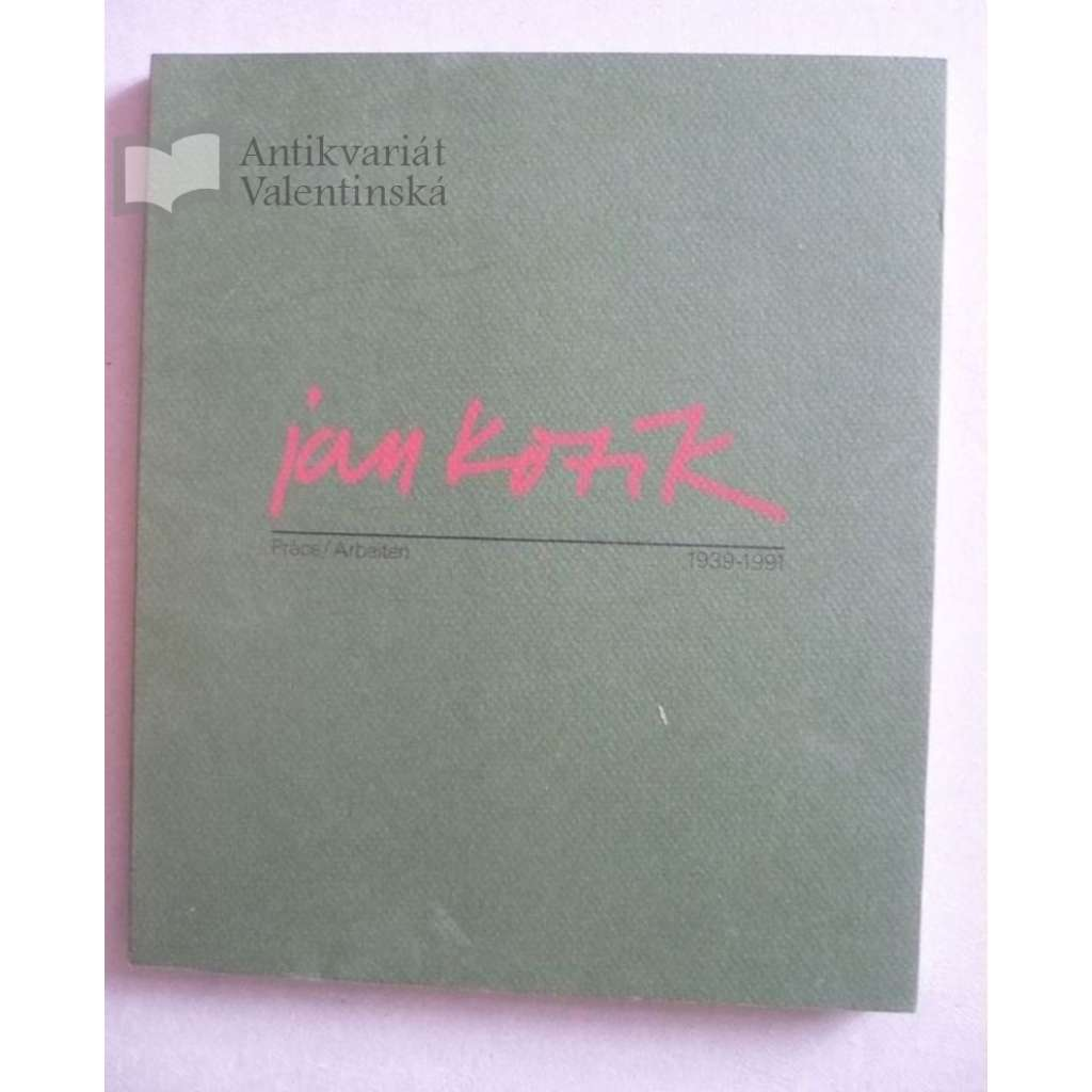 Jan Kotík - reprodukce 1939-1991 (katalog)