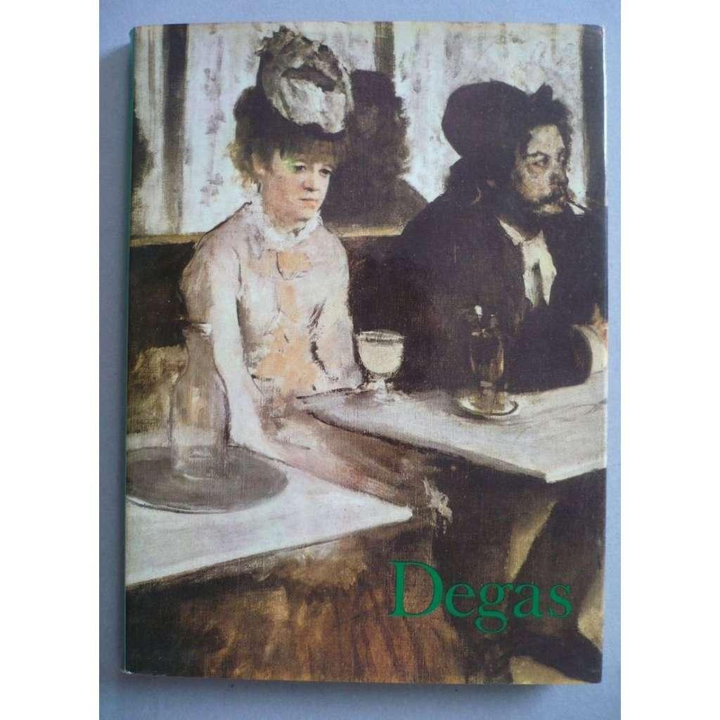 Degas - souborné malířské dílo