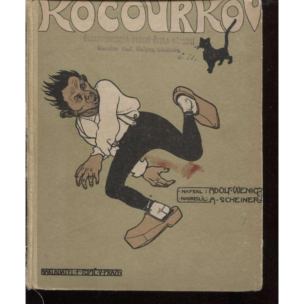 Kocourkov (ilustrace Artuš Scheiner)