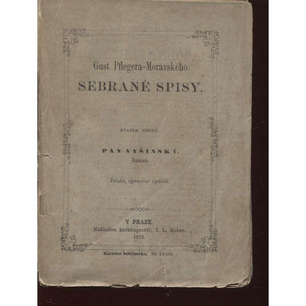 Pan Vyšinský (1875, poezie)
