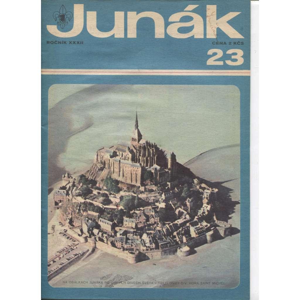 Časopis Junák, číslo 23, ročník XXXII. (1970)