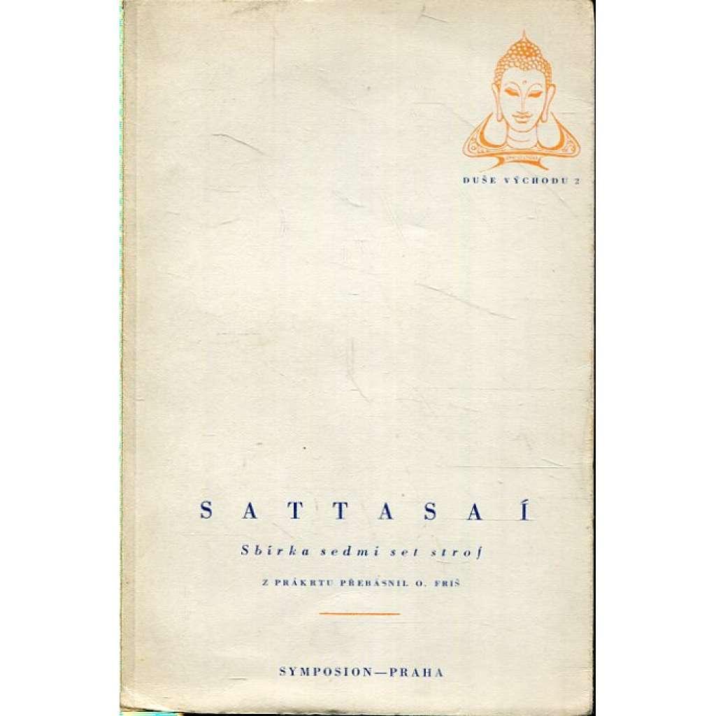 Sattasaí. Sbírka sedmi set strof (výbor - básně z Indie - edice Duše Východu)