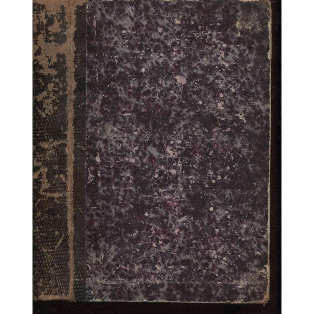 Sebrané listy (nové laciné vydání, vazba kůže, 1869)